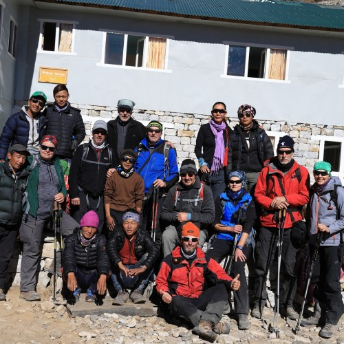 Nepal Panorama - Lodge Trekking zum  Mt.Everest